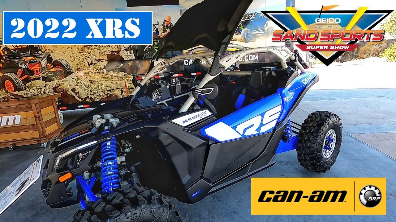 2022 CAN AM X3 XRS SAND SPORTS SUPER SHOW 2021 EP 210.3 @CAN-AM OFF-ROAD
