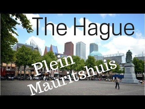 The Hague (Den Haag), The Netherlands.. City Tour (Part4/14) Plein, Mauritshuis..