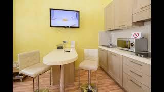 Квартира посуточно Киев: Видеообзор просторных апартаментов-студио с балконом
