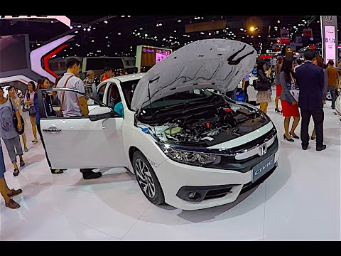 New 2016, 2017 Honda Civic Sedan