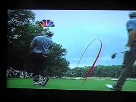 Lucas Glover US Open 2009 protracer
