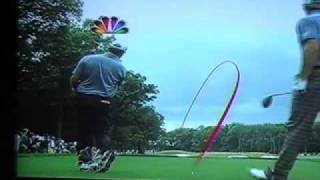 Lucas Glover US Open 2009 protracer