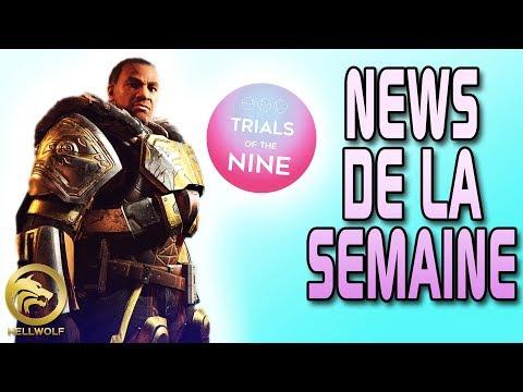 Destiny 2 - NEWS DE LA SEMAINE ! Update Jd9, Bannière de Fer & Patch du Vagabond thumbnail