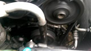 1995 Cadillac Deville 4.9 V8 1st start after water pump install