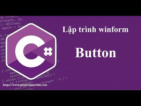Lập trình C# Winform - Button