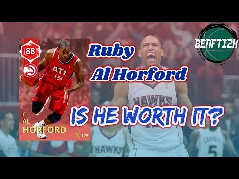 NBA 2K18 Ruby Al Horford, is he worth it? He can teleport!
