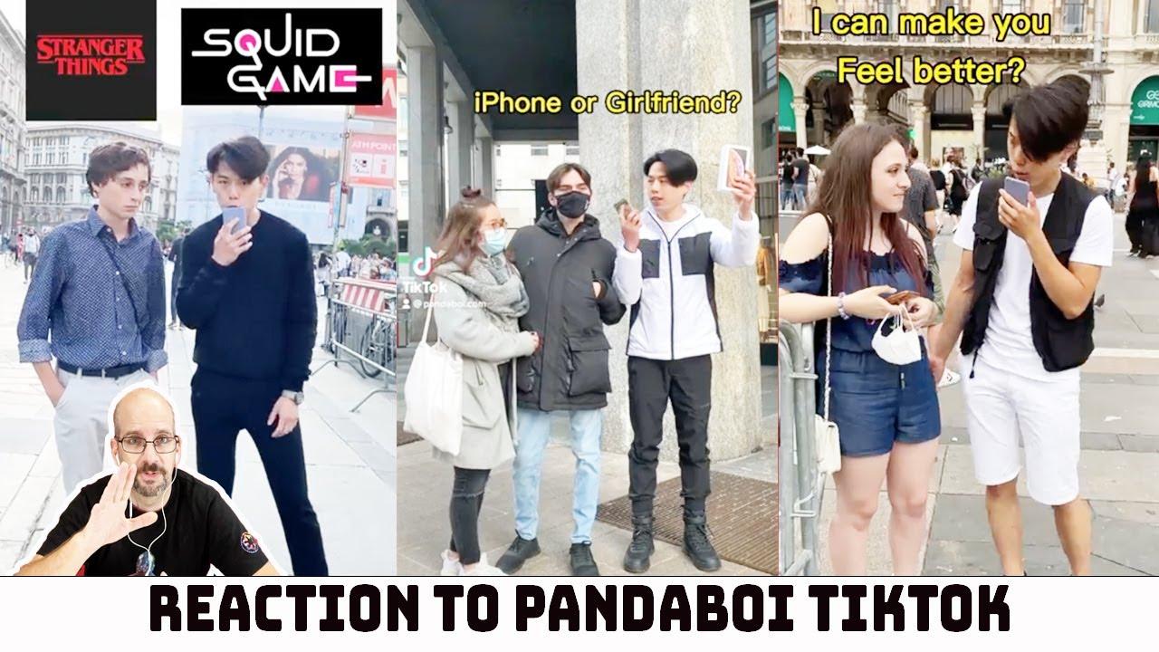 Reaction to Social Experiment Videos of @PANDA BOI | PANDA BOI Tiktok Compilation