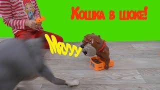 Собака Бастер и его косточки Игры для детей Распаковка Don't Take Buster's Bones Розыгрыш собаки