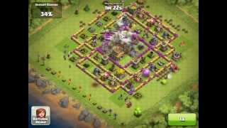 Clash of Clans - Best Lvl 8 Town Hall Attacked (1)