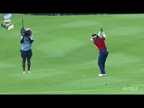 14-Year-Old Champion Atthaya Thitikul's Best Golf Shots 2017 Ladies European Thailand Championship