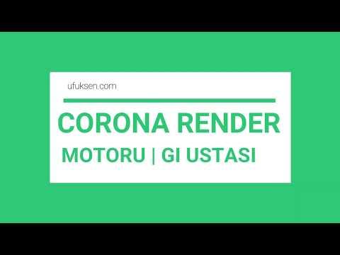 Corona Render Temel Görselleştirme Eğitim Seti: Corona Render Motoru Nedir ? 01