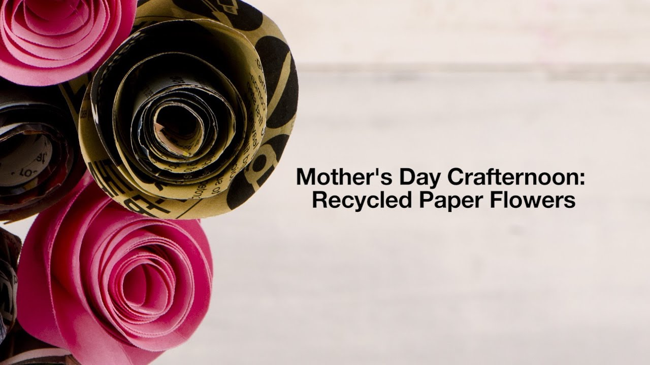 Video lush diy recycled paper flowers lush fresh handmade lush diy recycled paper flowers mightylinksfo