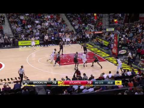 Atlanta Hawks vs Brooklyn Nets | Game Highlights | 3.8.17 | 16-17 NBA Season