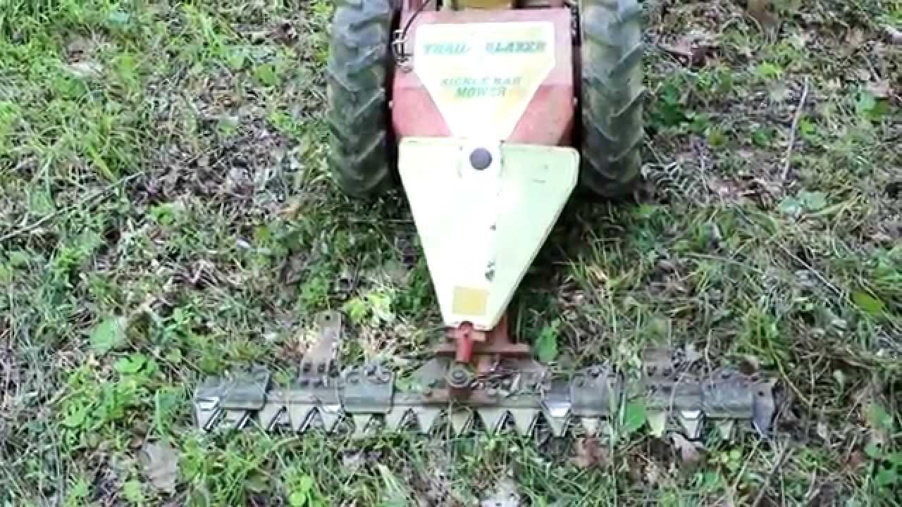 Sickle Bar Mower Garden Way S Trailblazer For Trail