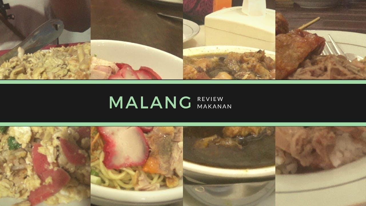Review Makanan Enak Di Malang Youtube