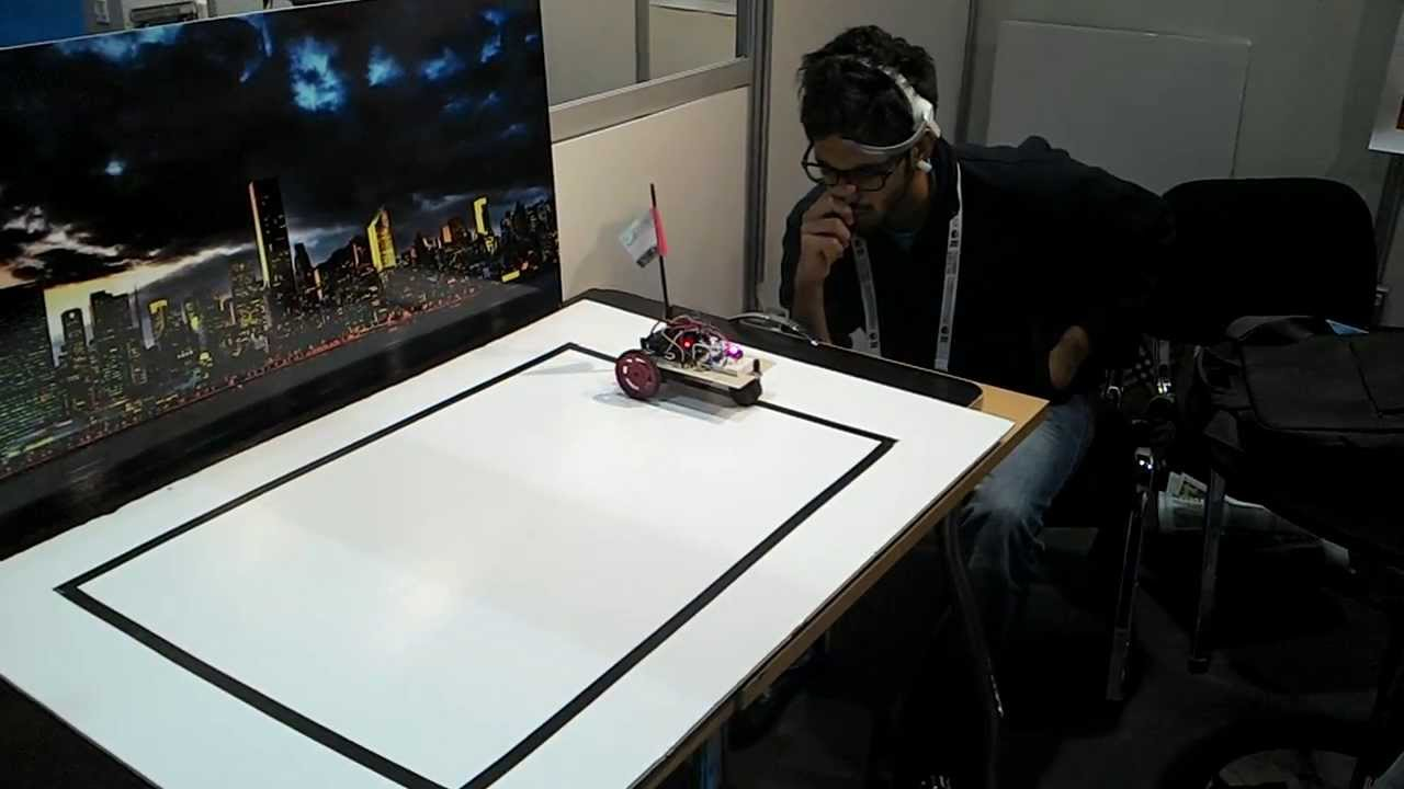 Arduino controlled by mindwave device youtube