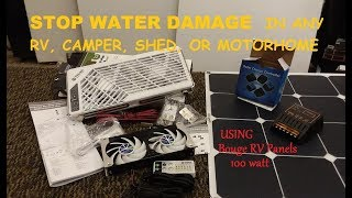 Stop RV water damage, mold, & rot with Solar & DIY Power venting