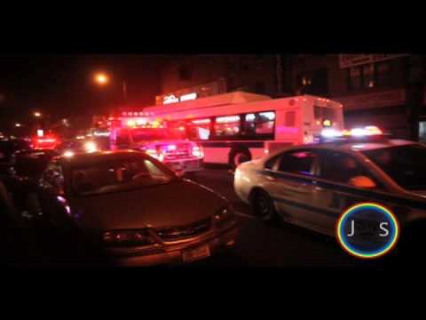 JS: NYPD officers killed Kimani Gray on 3/9/2013. Brooklyn protest on 3/11/2013. East Flatbush.