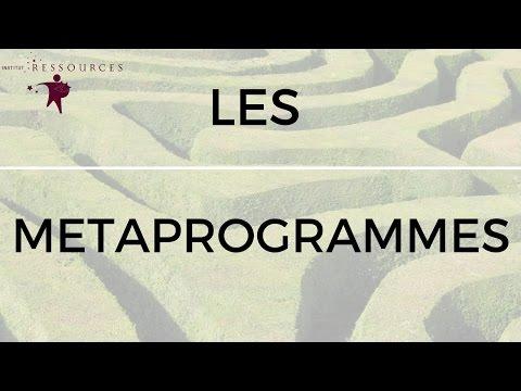 Les méta-programmes, par Anne Piérard