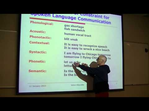 Speech Recognition lecture 1A