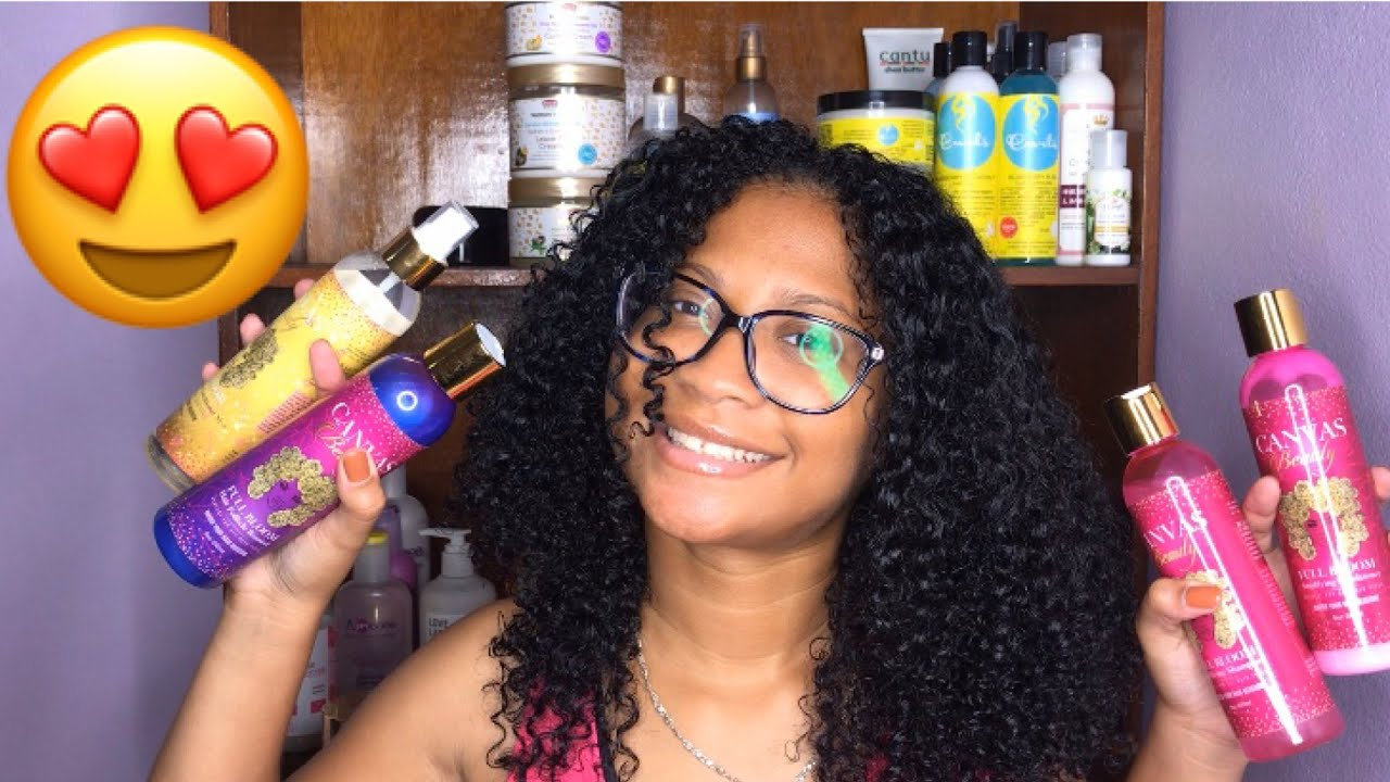 Canvas Beauty Hair Growth Products Review