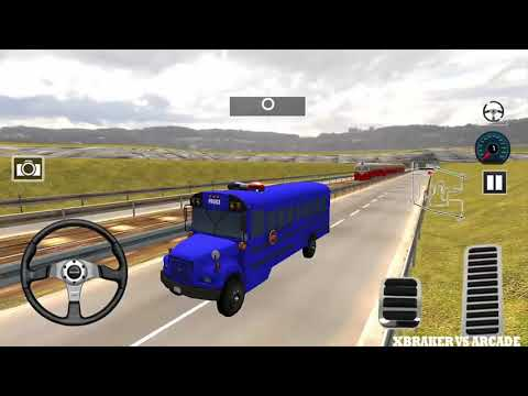 Indian Police Bus Simulator | All Police Buses Unlocked - Android GamePlay HD