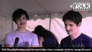 The Dodos - Interview with the indie alt-rock band at the 2010 Winnipeg Folk Festival