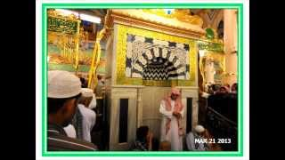 Nabawi Mosque  Inside Pictures March 2013 (1434 A.H)   ریاض جنت       مسجد ای نبی کے اندر