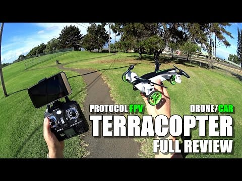 PROTOCOL TerraCopter EVO Car/Drone - Full Review - [Unbox, Inspection, Setup, Flight/Drive Test]