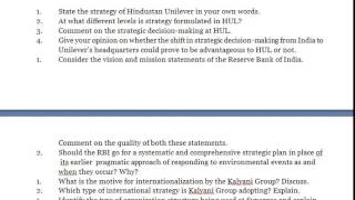 Strategic Management   Consider the vision and mission statements of the Reserve Bank of India Comme