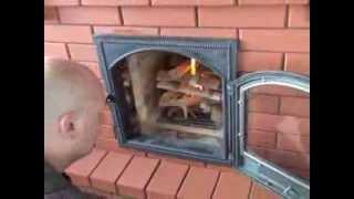 видео Кладка печей, каминов и каминопечей