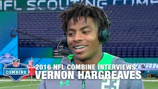 Vernon Hargreaves (Florida, DB): 'I'm the Best Player in the World' | NFL Combine Interview