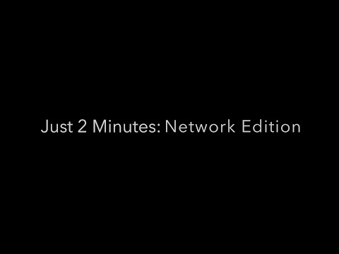 Just 2 Minutes: IT Network Edition on YouTube