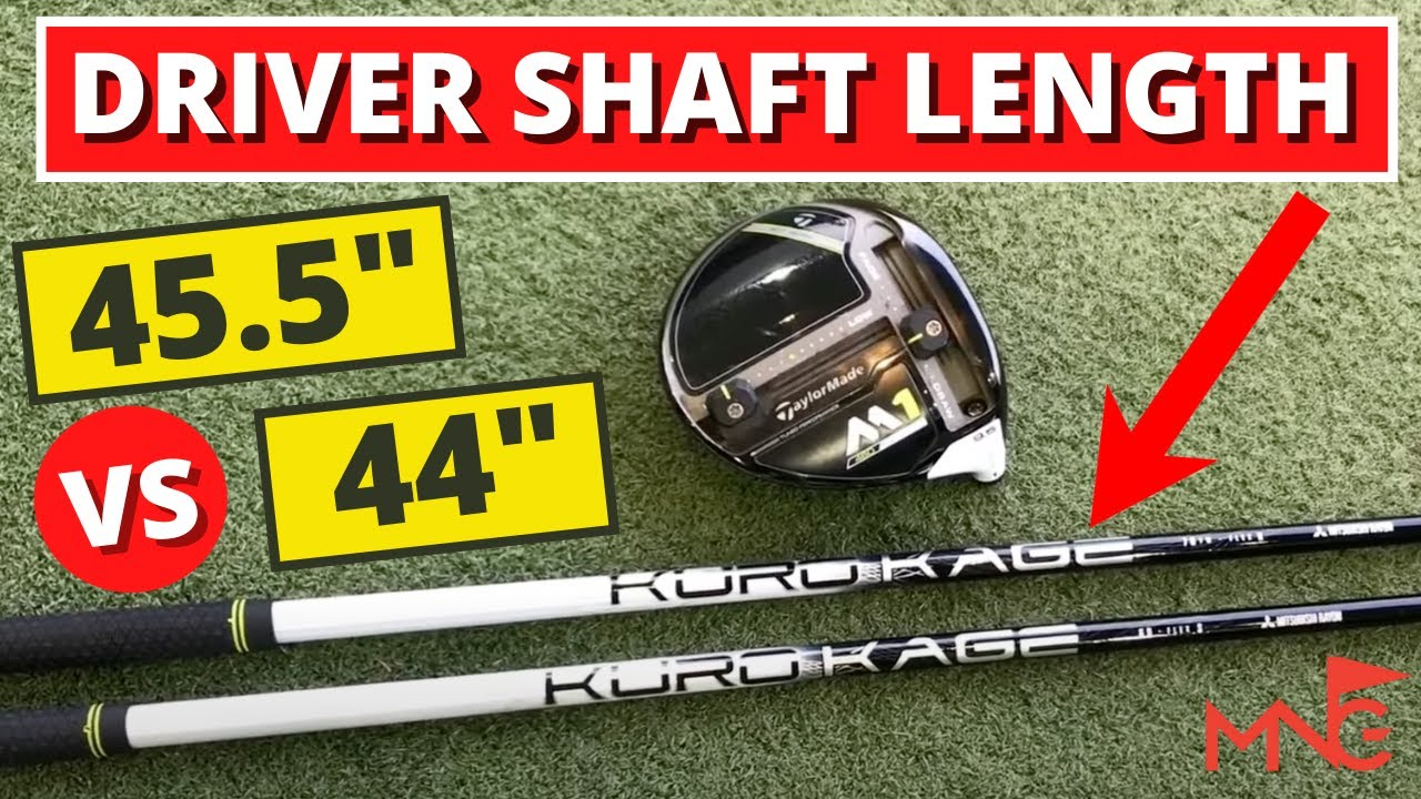 Driver Shaft Length Is Shorter Better Than Standard