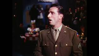 """I Left My Heart At The Stage Door Canteen"" This is the Army 1943 HD"