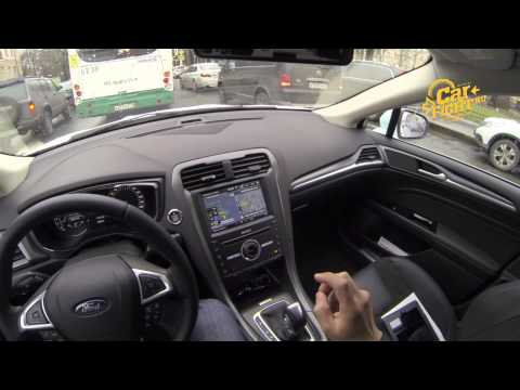 Ford Mondeo 2015 тест-драйв POV. Игорь Бурцев