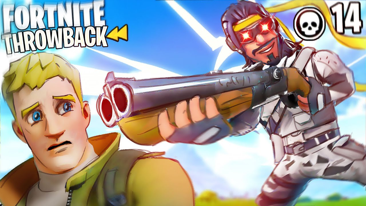 JUMP PUMP AND GRAPPLING EVERYWHERE! THIS MOVEMENT IS WILD!! FORTNITE THROWBACK