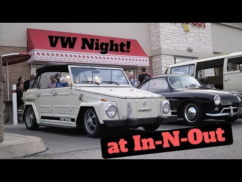 VW Night at In N Out!