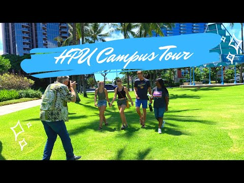 Hawaii Pacific University Campus Tour 2019