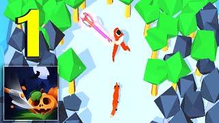 Idle Lumberjack 3D - GamePlay Руби деревья и прокачивай свой топор