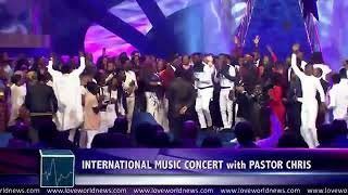 International Music and act concert with pastor chris