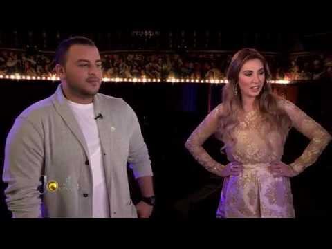 ماجد المدني  - أرب أيدول - في برنامج جويل - Episode 55 Majed Madani Joelle show Clinica Joelle