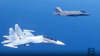 GAK NONTON RUGI !!! INILAH DETIK DETIK PERTAMA KALINYA F-35 BERHADAPAN DENGAN  SUKHOI