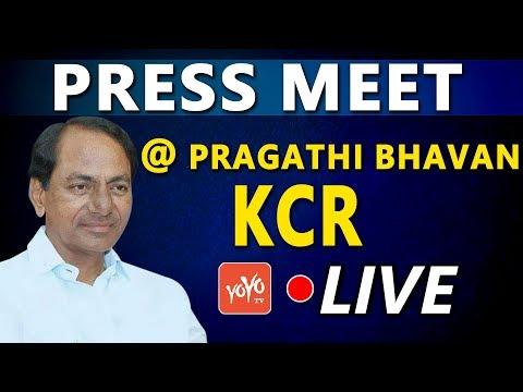 CM KCR LIVE Press Meet | Meeting With Telangana Employees Association | Telangana | YOYO TV