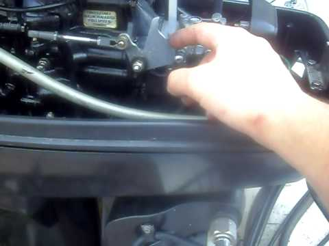 1999 120 hp Mercury Force - YouTube