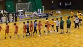 2018福井国体「ハンドボール成年女子」決勝 後半ラスト15分