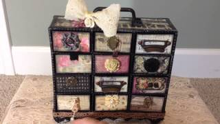 Romance Novel Mini Chest Of Drawers