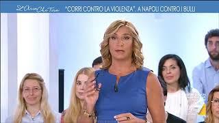 """Myrta Merlino presenta la """"corsa contro la violenza"""", prevista domenica a Napoli"""