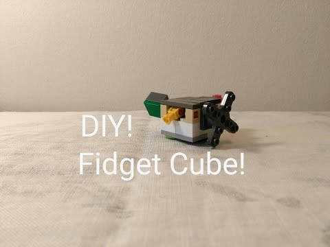 lego fidget cube instructions