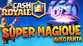 CLASH ROYALE - SUPER MAGIQUE ET ARENE 7 (iOs, Android)